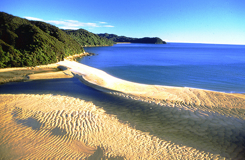 Awaroa Estuary Abel Tasman National Park Nelson NZ - photo credit - Nelson Tasman Tourism