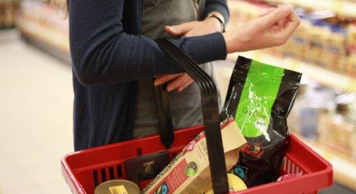 shopping for Fairtrade