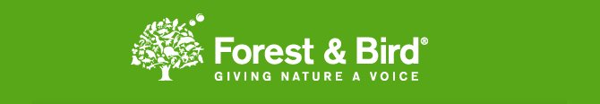 Forest and Bird logo - giving nature a voice