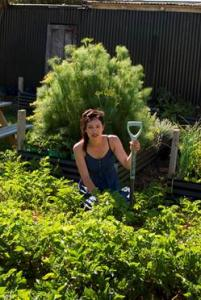 NZ Gardener of the Year 2011, Jade Temepara.