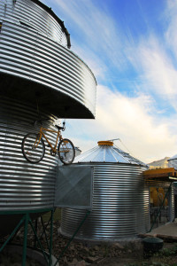 SiloStay - Cyclists will love the custom bike racks!