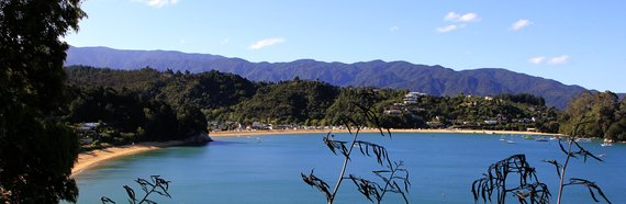Beach at Kaiteriteri Nelson, New Zealand