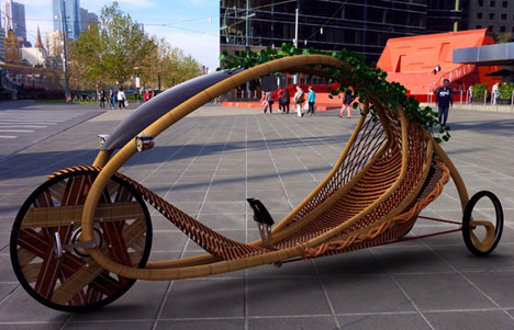 Bamboo bike concept by Alexander Vittouris
