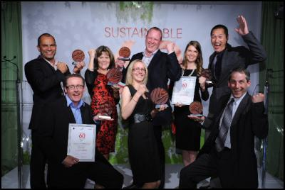 Ziptrek Ecotours at the 2011 Sustainable60 Awards