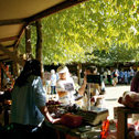 Stalls at the Black Barn Growers Market