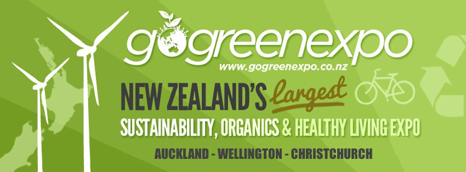 Go Green Expo banner