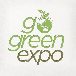 official logo: Go Green Expo