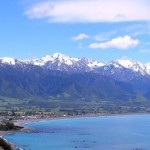 Landscape of Kaikoura, New Zealand