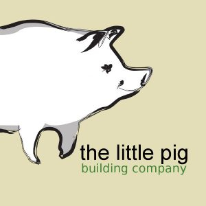 The Little Pig Building Company logo - Nelson, NZ