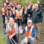 Volunteers at the Brook Waimarama Sanctuary - photo Colin Smith