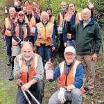 Volunteers at the Brook Waimarama Sanctuary - photo Colin Smith